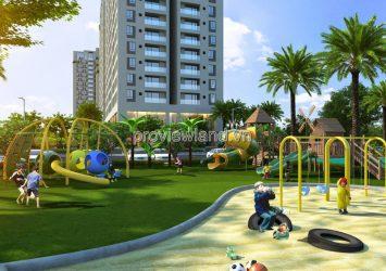 Luxury apartment for rent in River Garden 3 bedroom modern furniture