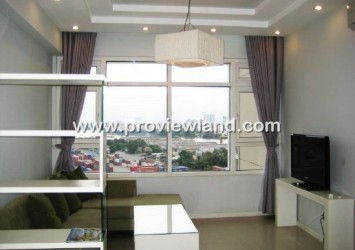 Apartment for rent in Saigon Pearl, view of District 2