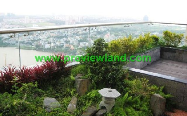 Duplex Saigon Pearl for rent in Binh Thanh Dist