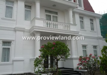 Luxury villa for rent in Thao Dien District 2