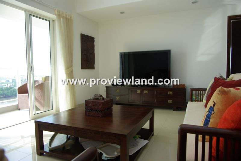 River Garden Apartment for rent in District 2, furnished ...