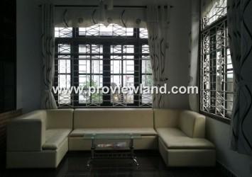 Villa for rent in Nguyen Van Huong, Thao Dien