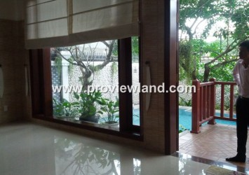 Villa for rent in Thao Dien District 2 Saigon River