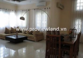 Villa for rent in Thao Dien, Quoc Huong Street