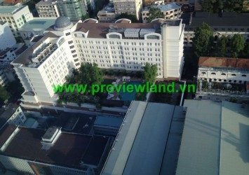 Vincom Tower apartment for rent in District 1, partly furnished, Ho Chi Minh City