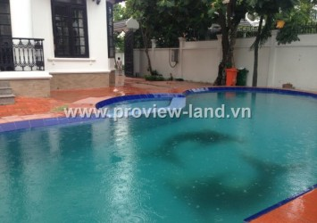 Beautiful new Villa for rent in Thao Dien District 2