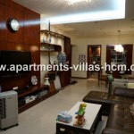 Saigon Pearl apartment for rent view District 1