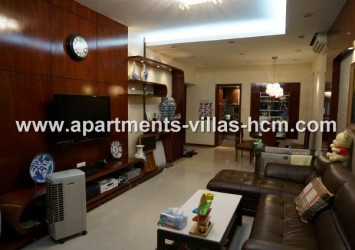 Saigon Pearl apartment for rent view District 1