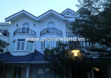 Villa Saigon Pearl for rent Bình Thanh District, very nice landscape and good price