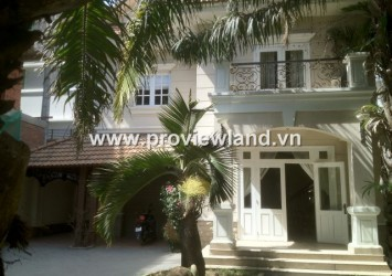 Villa Thao Dien for rent in District 2 Compound