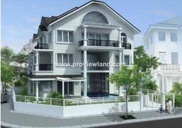 Villa Saigon Pearl, the Sai Gon River for rent