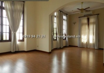 Villa for rent in Thao Dien District 2, Nguyen U Di Street