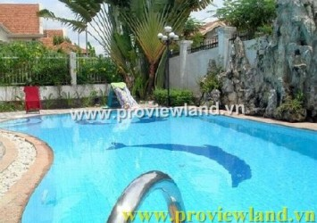 Nice Villa for rent Thao Dien Villa District 2