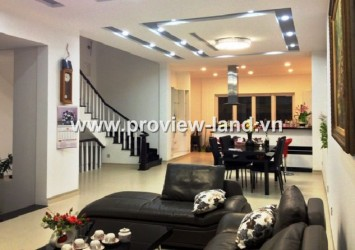 Saigon Pearl Villa for rent in Binh Thanh District 5BRS