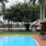 Villa along the Saigon river for rent with 2600 sqm