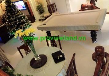 Villa for rent in Saigon Pearl
