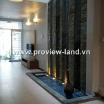 Villa for rent in Thao Dien area, Nguyen Van Huong Str