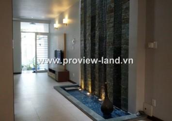 Villa for rent in Thao Dien area, Nguyen Van Huong Str