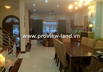 Villa for rent in Saigon Pearl, beautiful furniture