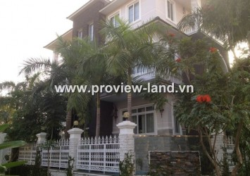 Thao Dien Villa in District 2 for rent with 4 brs