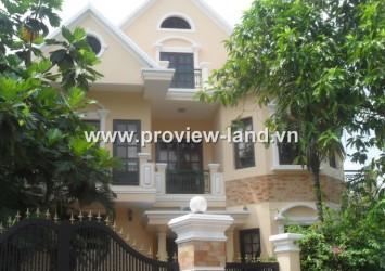Villa Nguyen Van Huong for rent in D2, Thao Dien Ward