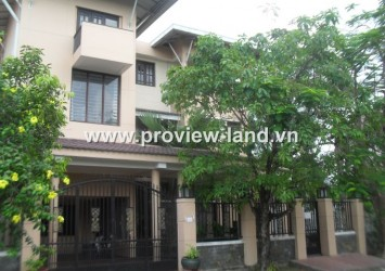 Villa for rent in Thao Dien ward, river view District 2