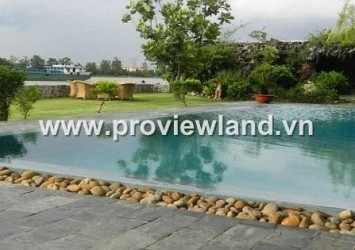 Thao Dien Villas for rent in District 2 - area 1200 sqm