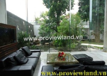 Smart Villa for rent Tran Ngoc Dien Street
