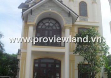 Villas Thao Dien for rent, $2500 per month