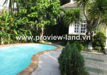 Villa Quoc Huong for rent in Thao Dien District 2