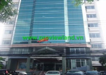 Office for rent in District 3 HCM City, PVV Building