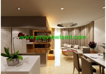 Apartment for rent in Saigon Pavillon, located in the heart of District 3