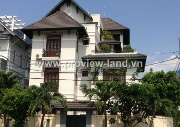 Villa for rent in Thao Dien District 2, View Saigon River