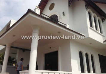Villa for rent in Thao Dien D2, unfurnished