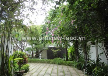Villa for rent in Phu Nhuan District, Hoang Van Thu street