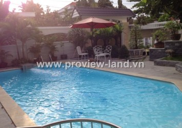 The most beautiful villa for rent in Thao Dien District 2