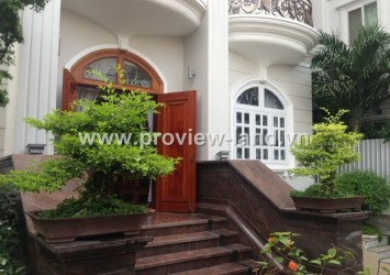 Villa for rent in Thao Dien District 2 with swimming pool and beautiful garden