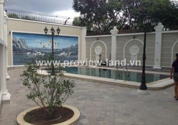 Villa for rent next Saigon River, Thao Dien District 2