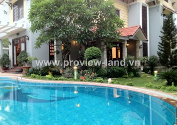 Most beautiful villa for rent in Thao Dien District 2, 1000m2