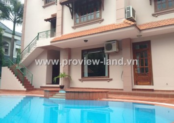 Villas in Thao Dien Ward, District 2 for rent, luxury villas