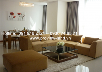 Nice apartment for rent at Xi Riverview Palace in District 2
