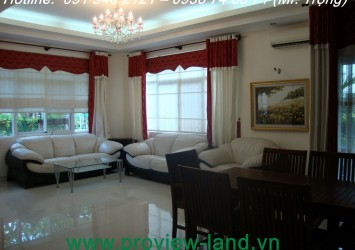 Villa for rent in Phu My Hung District 7 in HCMC