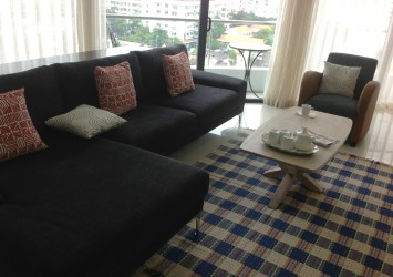 Apartment for rent at City Garden in Binh Thanh District HCMC