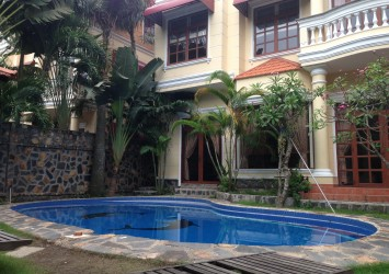 Villa for rent in Thao Dien District 2 security