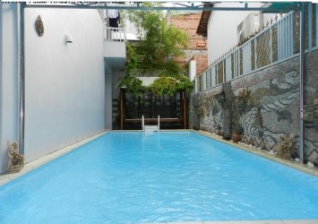 Villa for rent in Thao Dien District 2 swimming pool and garden