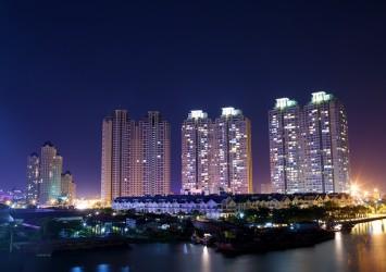 Binh Thanh区の夜景