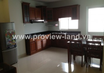 Serviced apartment for rent in District 1 near Ben Thanh market