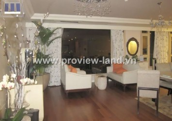 Penthouse for rent in The Manor Building on 91 Nguyen Huu Canh Street
