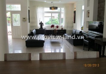 Villas for rent at Phu Gia Villa in District 7