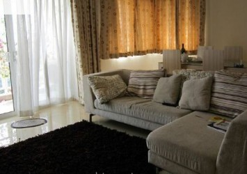 River garden apartment for rent in District 2, 140sqm, fully furnished